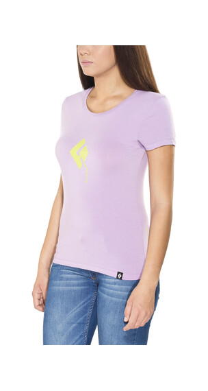 Black Diamond Placement - T-shirt manches courtes Femme - violet